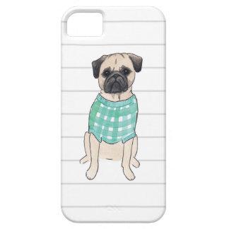 Pug Watercolor Iphone Case
