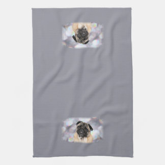 Pug - Willy Hand Towels