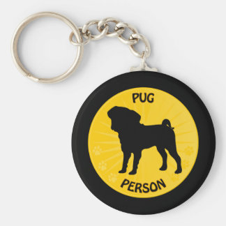 Pug Xing Keychain