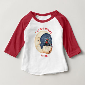 Pug You To The Moon! Baby T-Shirt