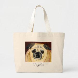Pugable Large Tote Bag
