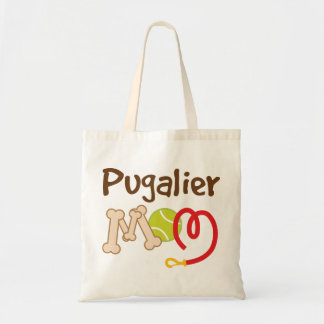 Pugalier Dog Breed Mom Gift Tote Bag