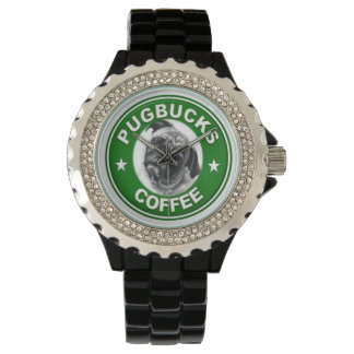 Pugbucks Coffee Watch