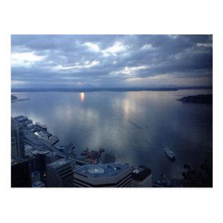 Puget Sound Seattle Washington Postcard
