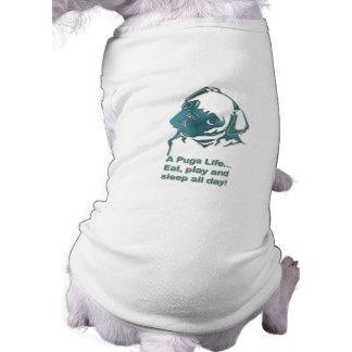 Puggie Ribbed Tank Top Pet Shirt