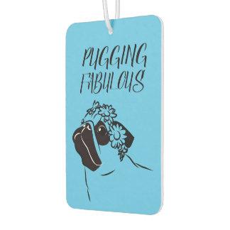 Pugging Fabulous Air Freshener