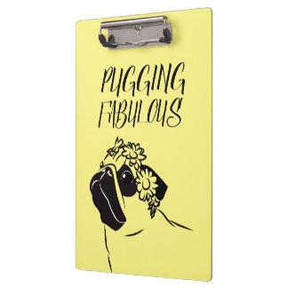 Pugging Fabulous Clipboard