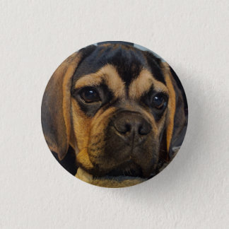 Puggle 1 Inch Round Button