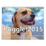 Puggle! 2015 Calendar