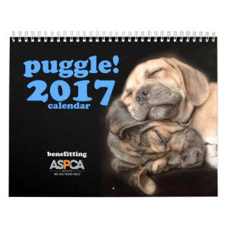 Puggle! 2017 Calendar