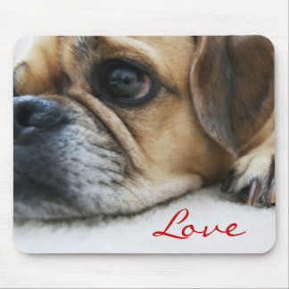 Puggle Love Mousepad