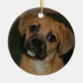 Puggle ornament 2