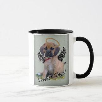 Puggle perfect angel mug
