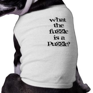 Puggle? Pet T-shirt