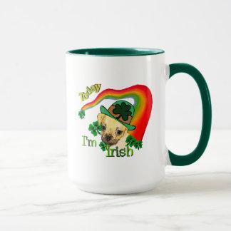 Puggle St Patricks Day Mug
