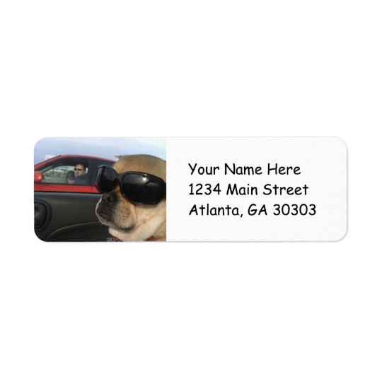 Puggles Return Address Labels