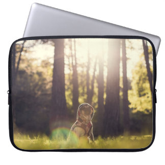 PugHood  Sunset Laptop Sleeve
