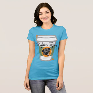 pugkin spice t-shirt for the pug owner