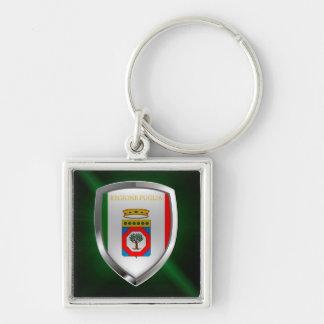 Puglia Mettalic Emblem Keychain