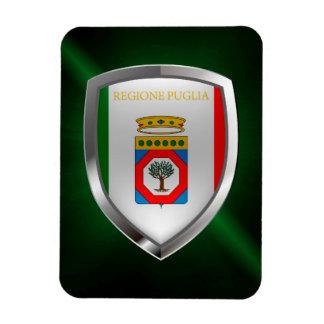Puglia Mettalic Emblem Magnet