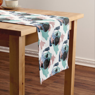 Pugly Short Table Runner
