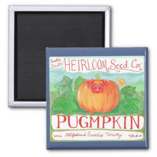 Pugmpkin magnet