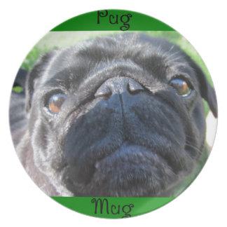 pugmug dinner plate