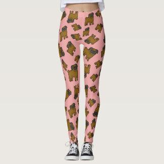 Pugs #6 Pink Leggings