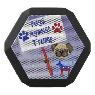 Pugs against Trump Black Bluetooth Speaker