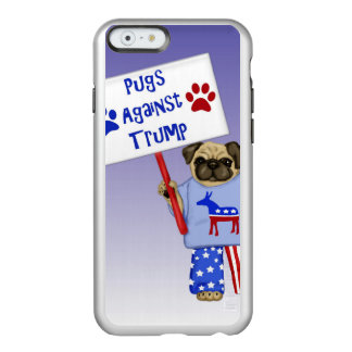 Pugs against Trump Incipio Feather® Shine iPhone 6 Case