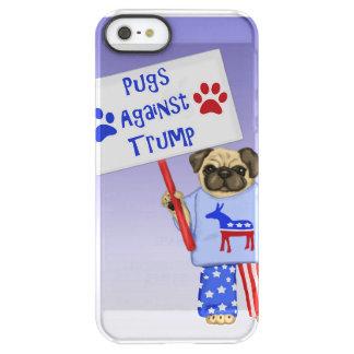 Pugs against Trump Permafrost® iPhone SE/5/5s Case