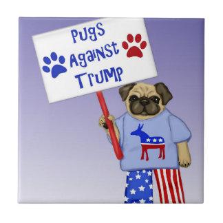 Pugs against Trump Tile