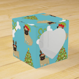 Pugs and Bones and Trees Favor Box