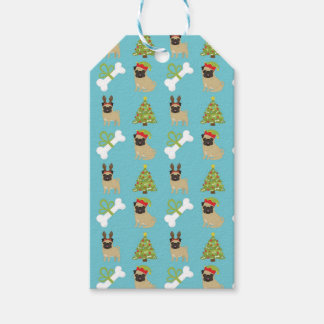 Pugs and Bones and Trees Gift Tags