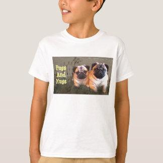 Pugs and Hugs Kids T-Shirt