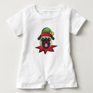 Pugs  Funny Elf Christmas Gift Shirt