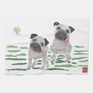 Pugs Hand Towels