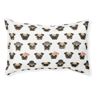 Pugs in Disguise Pet Bed