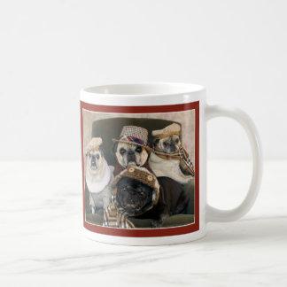 Pugs in Plaid Pug Mug by Pugs and Kisses