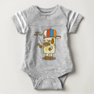 Pug's Life Baby Bodysuit