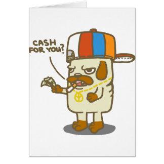 Pug's Life Card
