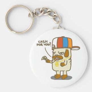 Pug's Life Keychain