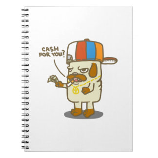 Pug's Life Notebook