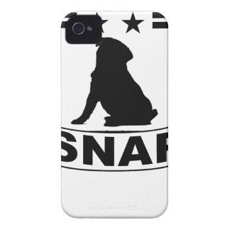PUGS MAKE ME SNAP . iPhone 4 CASES