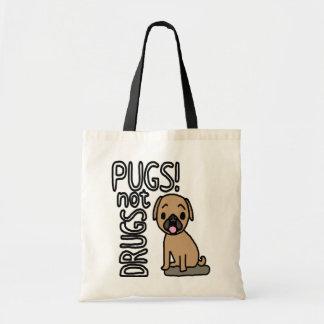 Pugs minus the drugs - Bag. Tote Bag