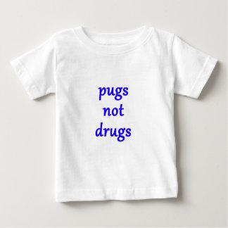 pugs not drugs baby T-Shirt