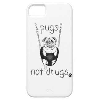Pugs not drugs iPhone 5 case