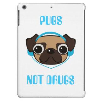 Pugs Not Drugs iPad Air Cases