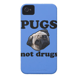 Pugs Not Drugs Case-Mate iPhone 4 Cases