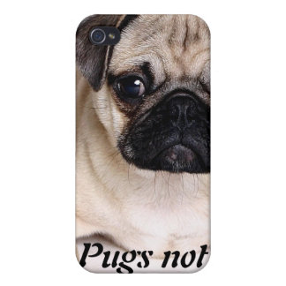 Pugs not Drugs iPhone Case iPhone 4 Cover
